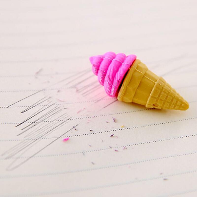 Student Cute Pen Shape Eraser Rubber Stationery Kid Gift Novelty Stationery