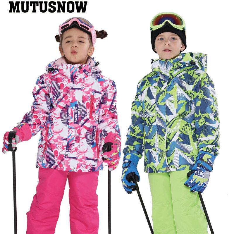Children Kids Winter Sports Warm Thermal Waterproof Windproof Ski Snow Snowboard