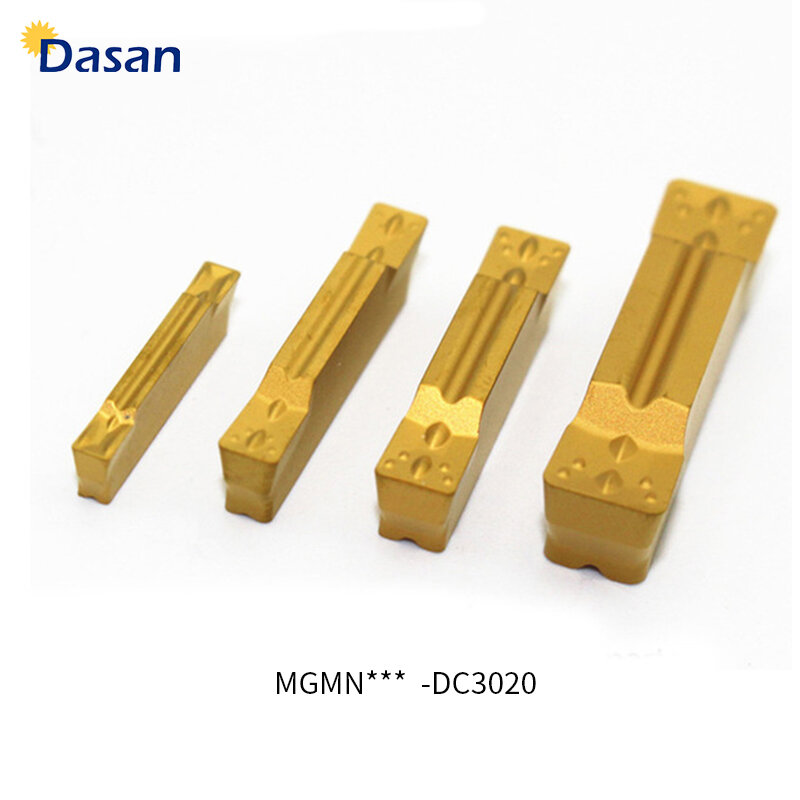 10pcs MGMN300-M 3mm And Grooving Cutting Carbide Turning Insert Cutting Tool US