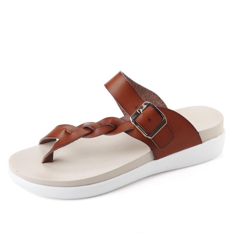 3025g3026g Summer Sandals Female New Shoes Flat Sandals Fashion Lady Cool Bestdealplus