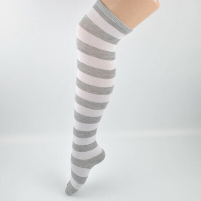Womens Anti-skid Long Boot Socks Over Knee Sheer Thigh High Compression Stocking