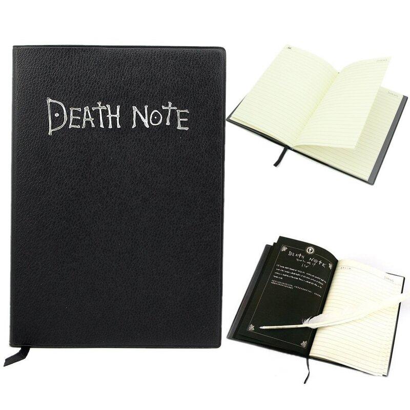 Carnet de notes de mort, joli grand Journal d'écriture, 20.5x14.5cm, pour Cosplay, thème Anime, nouvelle école