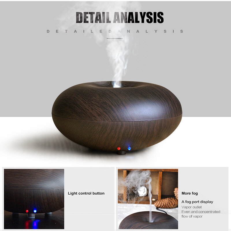 Tragbare 120 ml Aroma Aromatherapie Ultraschall Ätherisches Öl Diffusor Mini Wasser Nebel Maker Fogger Luftbefeuchter Aroma Diffsuer