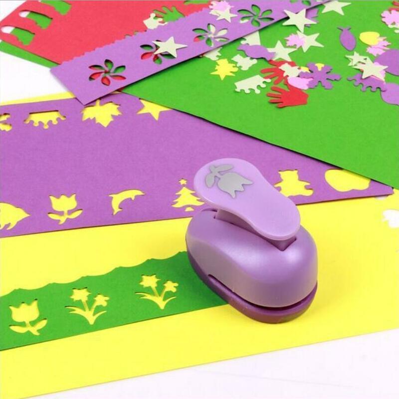Mini poinçon de papier pour bricolage, artisanat fait à la main, outil de Scrapbooking, poinçons pour cartes cadeaux, dispositif de gaufrage YH08, 1.5cm