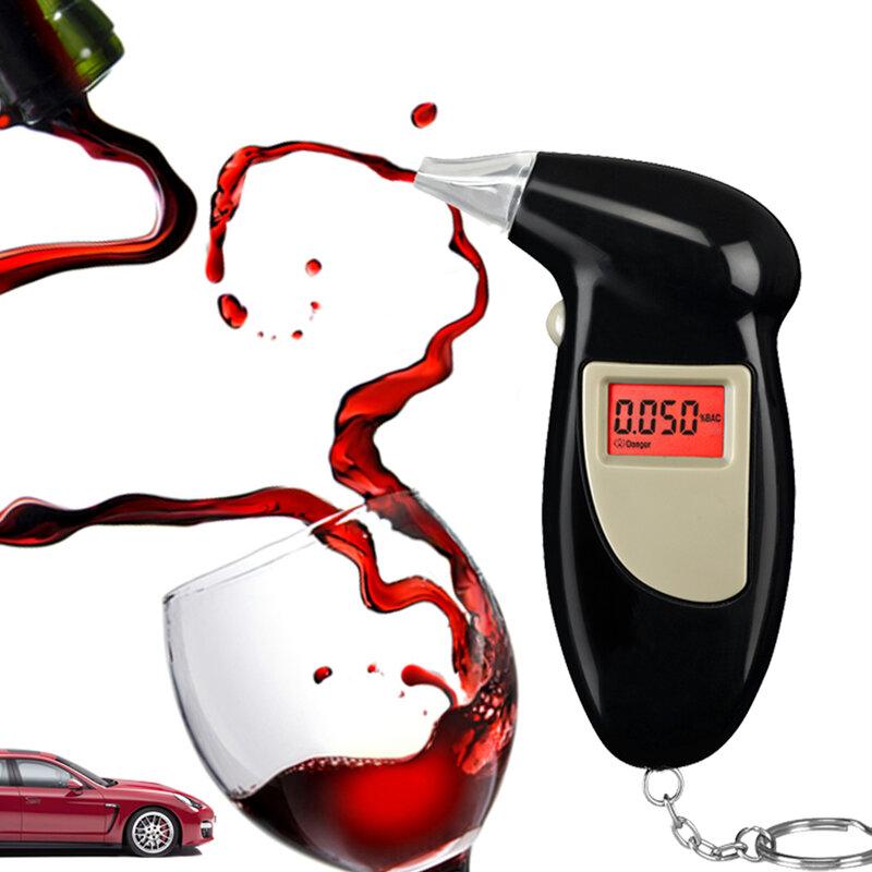 2019 Il Trasporto Libero, Catena Chiave Tester Dell'alcool, Digitale,, alito dell'alcool Analizza Il Tester (0.19% BAC Max)