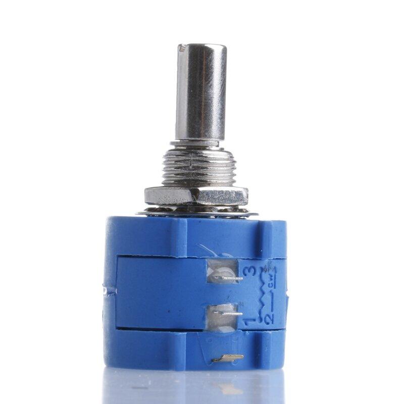 1Pc 10K 옴 3590S-2-103L 전위차계 10 회전 카운팅 다이얼 로터리 노브 전자 부품 Dropship