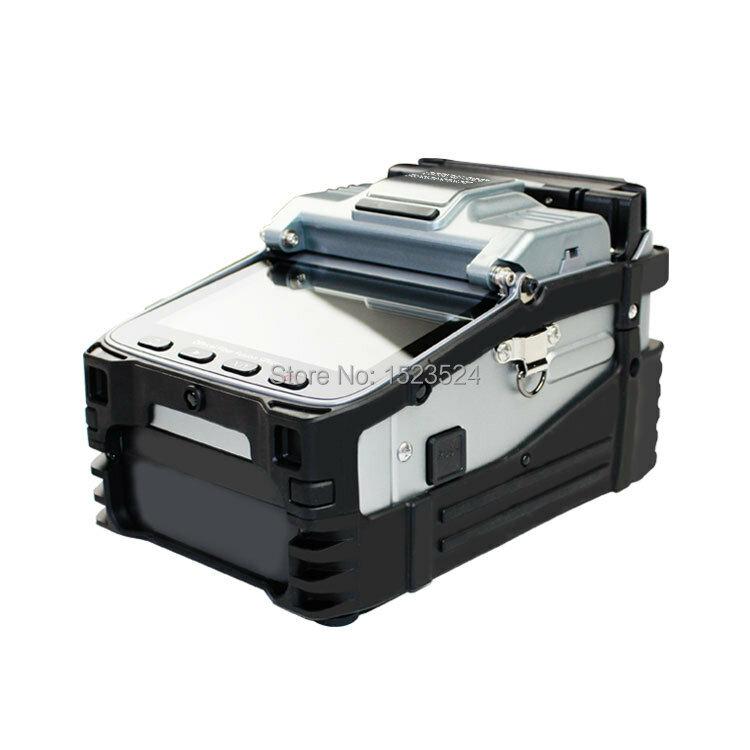 SM & MM multi-langue automatique Six moteurs Intelligent FTTH Machine d'épissage de fibers optiques épisseuse de Fusion de fibers optiques
