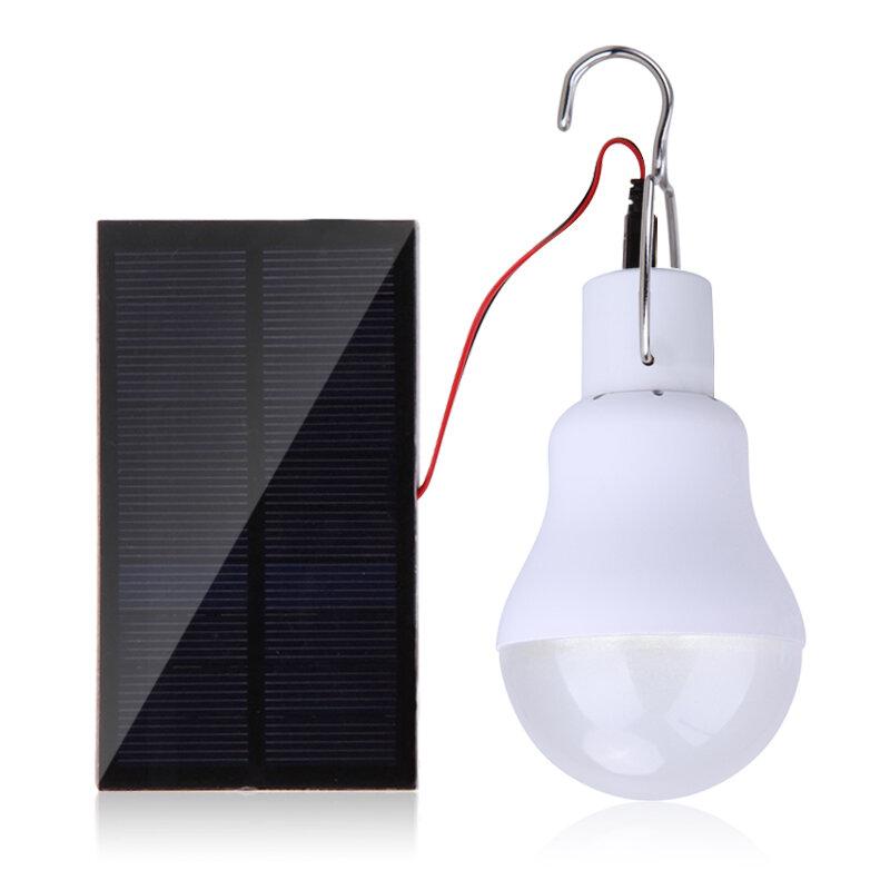 15W 130LM panneau solaire énergie solaire lumière extérieure lampe solaire ampoule Portable lampe à énergie solaire Led éclairage en gros livraison directe