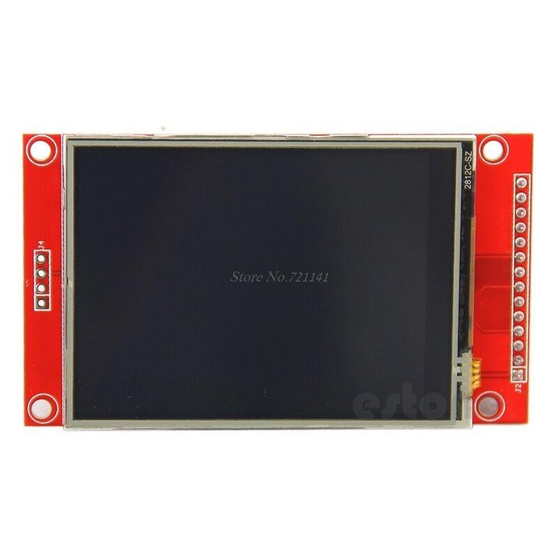 """240x320x2,8 """"SPI TFT Panel táctil LCD Módulo de puerto serie con PCB ILI9341 5V/3,3 V Dropship"""