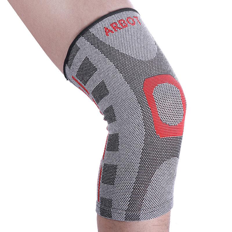 Naturehike 탄성 무릎 지원 중괄호 kneepad 배구 조정 가능한 무릎 패드 농구 안전 가드 스트랩 m l xl