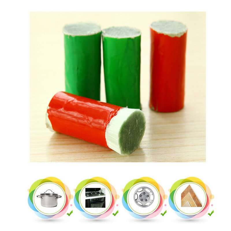 뜨거운 판매 청소 브러시 매직 스테인레스 스틸로드 매직 스틱 금속 녹 제거제 유용한 주방 청소 도구