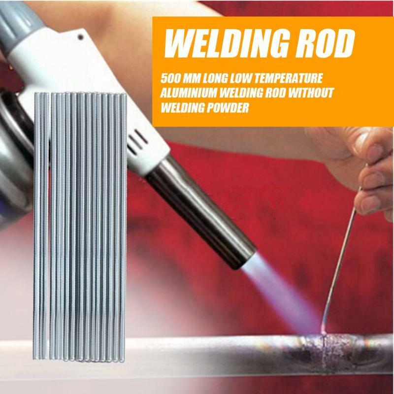 50x Solution Welding Flux-Cored Rods Metalworking CNC 50cm Equipment Tool Set