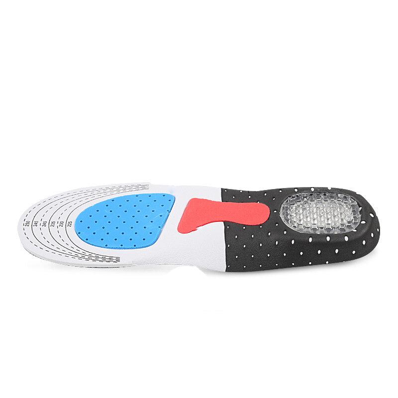 EXPfoot Unisex ortesis plantilla LUZ DE zapato, plantilla ortopédica almohadilla de silicona de Shock-cojín absorbente plantilla antideslizante insertar cuidado de los pies
