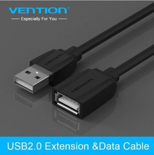 Vention usb 2.0 케이블 usb3.0 연장 extender 남성 여성 카보 usb 데이터 케이블 pc 키보드 프린터 카메라 마우스 게임