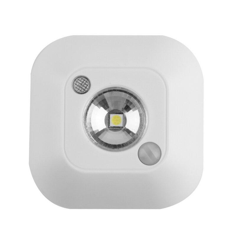 Luces de techo inalámbricas, Sensor de movimiento infrarrojo, luces de techo nocturnas, Mini lámparas de luminaria LED, iluminación de techo, lámpara de porche