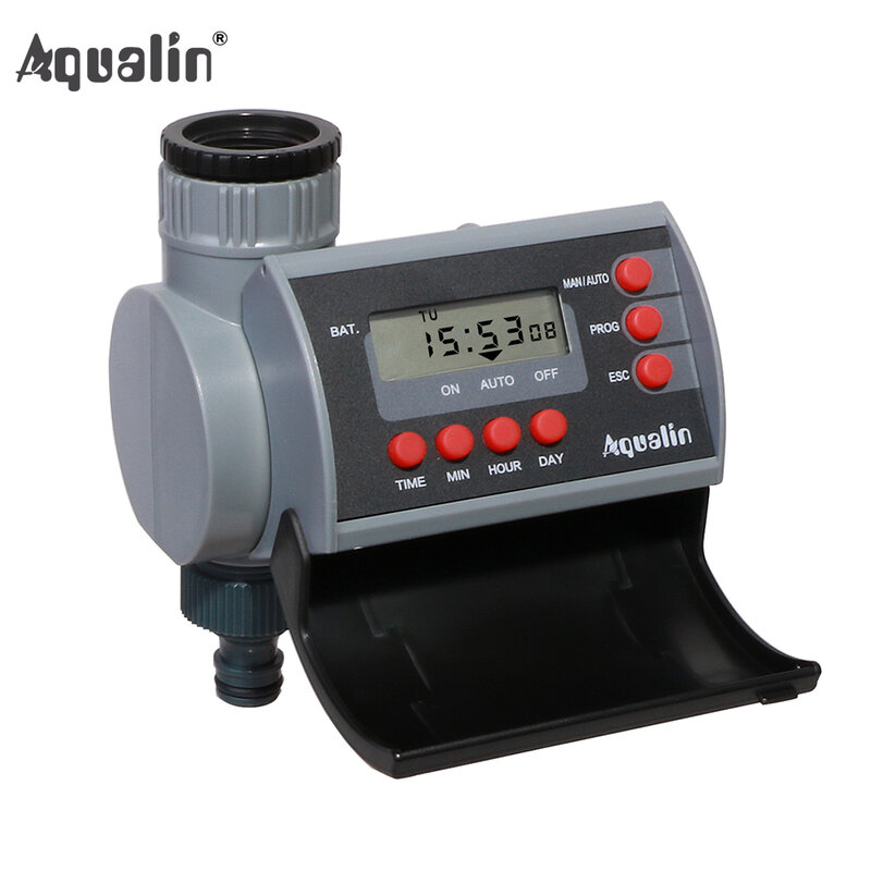 Magnetventil Digital Home Garten Automatische Wasser Timer Garten Bewässerung Controller System mit LCD Display #21002