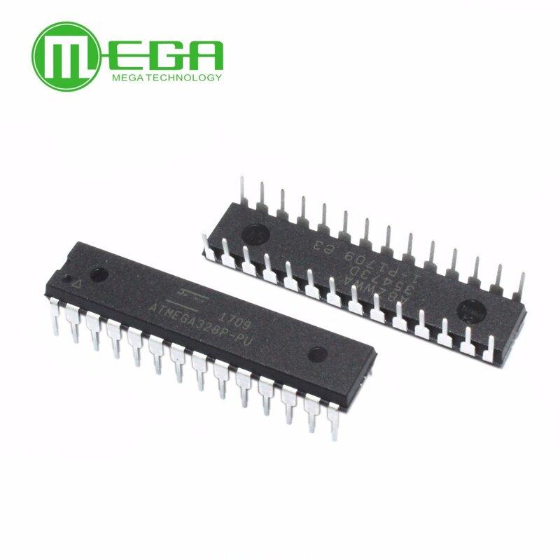 جديد ATMEGA328P-PU IC رقاقة متحكم MCU AVR 32K 20MHz FLASH DIP-28
