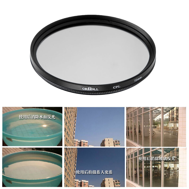 ND UV CPL Filter 10pieces 55mm lot 37 40.5 49 52 55 58 62 67 72 77mm FLD Lens Digital Filter Lens Protector for Canon for Nikon DSLR SLR Camera with Box
