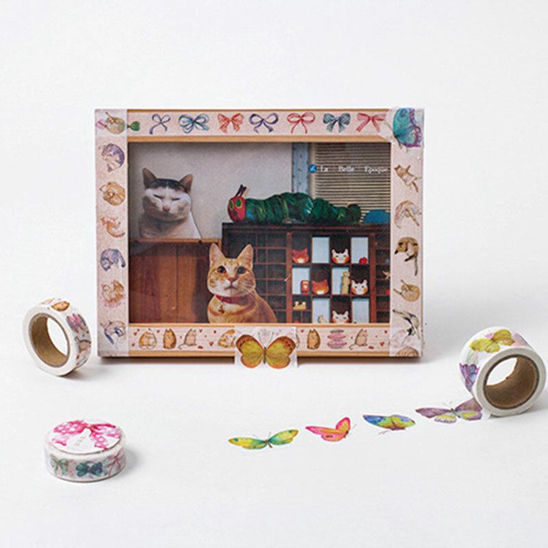 1x série twilight girls washi tape enfants bricolage album journal décoration ruban de masquage papeterie outil de scrapbooking livraison gratuite