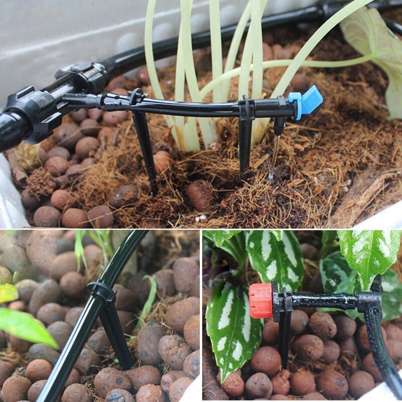 5 M 15 M 25 M FAI DA TE di Irrigazione a goccia Sistema di Irrigazione Automatica Tubo Da Giardino A Goccia Micro Kit di Irrigazione del Giardino con gocciolatori regolabili
