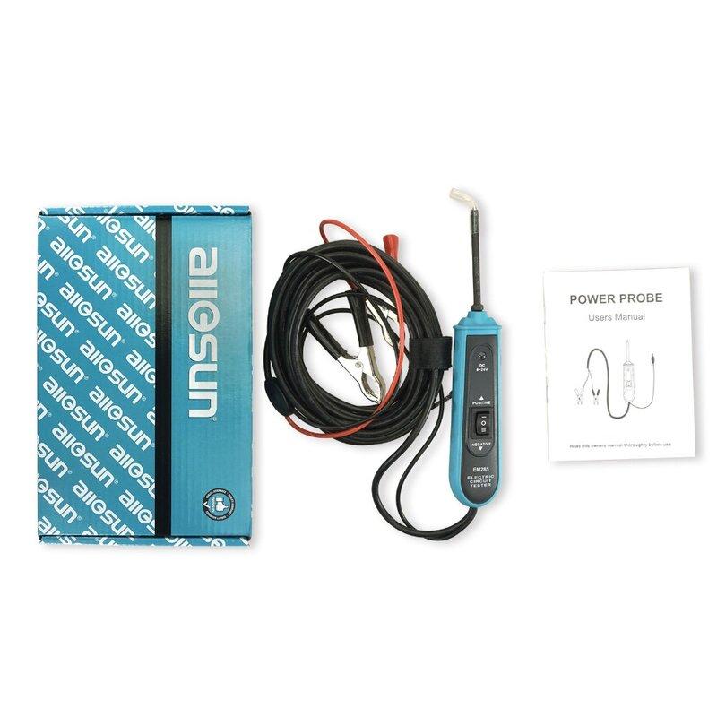 Alle Sonne EM285 6-24V DC Sonde Auto Elektrische Circuit-Tester Automotive Tester Elektrische System Diagnose Kabel Meter