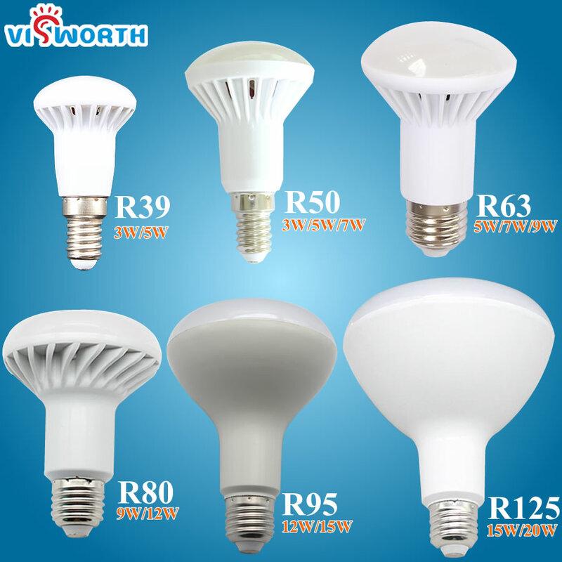 R50 led 램프 e14 e27 led 전구 3 w 5 w 7 w 9 w led 빛 ac 110 v 220 v 240 v lampara 홈 장식 ampoule 감기/따뜻한 화이트