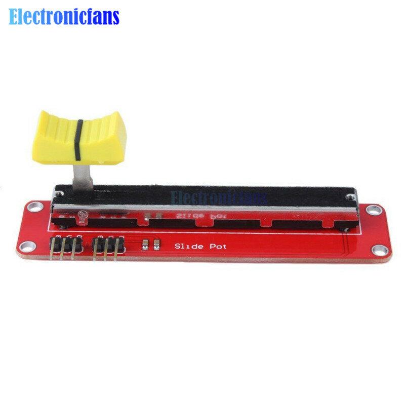 Diapositiva Potenziometro 10K Lineare Modulo di Uscita Doppia per Arduino Avr Blocco Elettronico