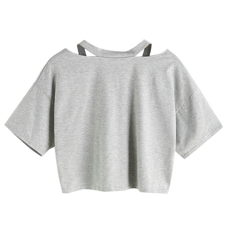 Tops Sequin Long Casual Tee T-Shirt Blouse Loose Womens Out Ladies Hollow Sleeve