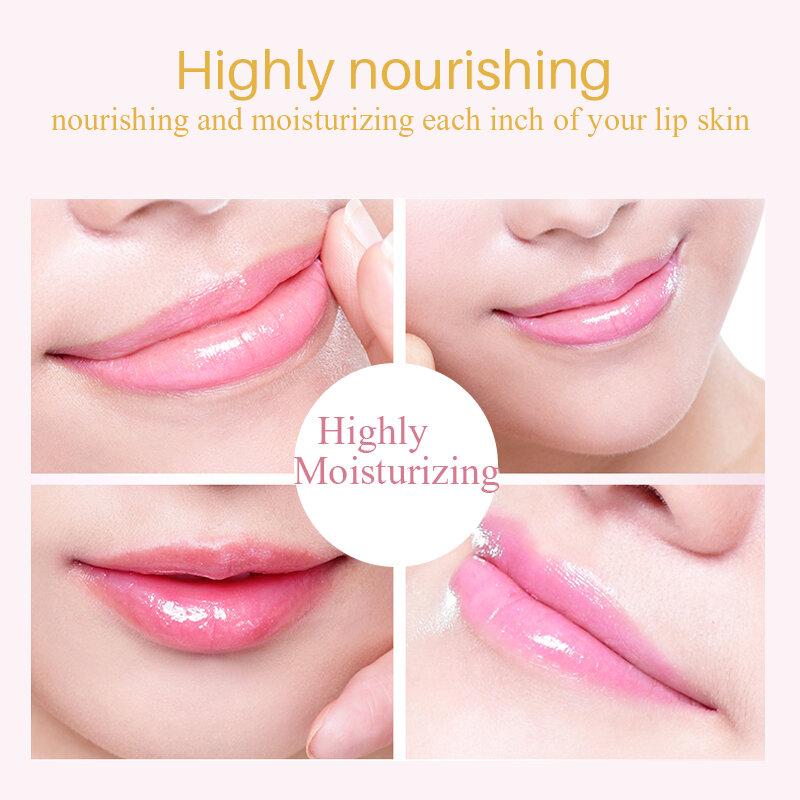 10PCS Donne Lip Maschere D'oro Di Cristallo del Labbro Membrana di Collagene Umidità Essenza Labbra Paffuta Maschera per la Cura Delle Labbra Cosmetici Viso cura