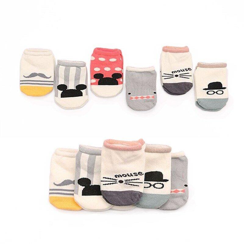 Calcetines de algodón con dibujos animados para niños y niñas, medias suaves a la moda, gran oferta