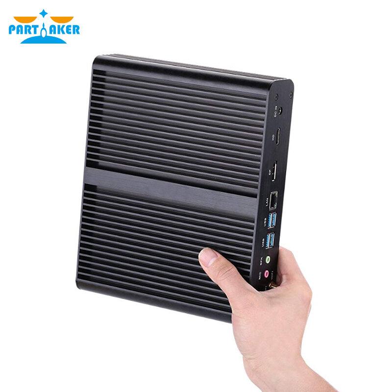 10 세대 팬리스 미니 컴퓨터 Intel I7 10710u I7 10510u 데스크탑 Pc Windows 10 2 Ddr4 M 2 Nvme Msata 2 5 Sata 4k Htpc Hdmi Dp 미니 Pc
