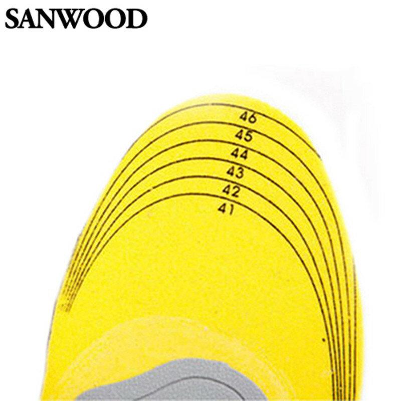 3D 편안한 정형 신발 Insoles 높은 아치 지원 패드 정형 안창 신발 메모리 면화 여성 남성 Insoles 신발