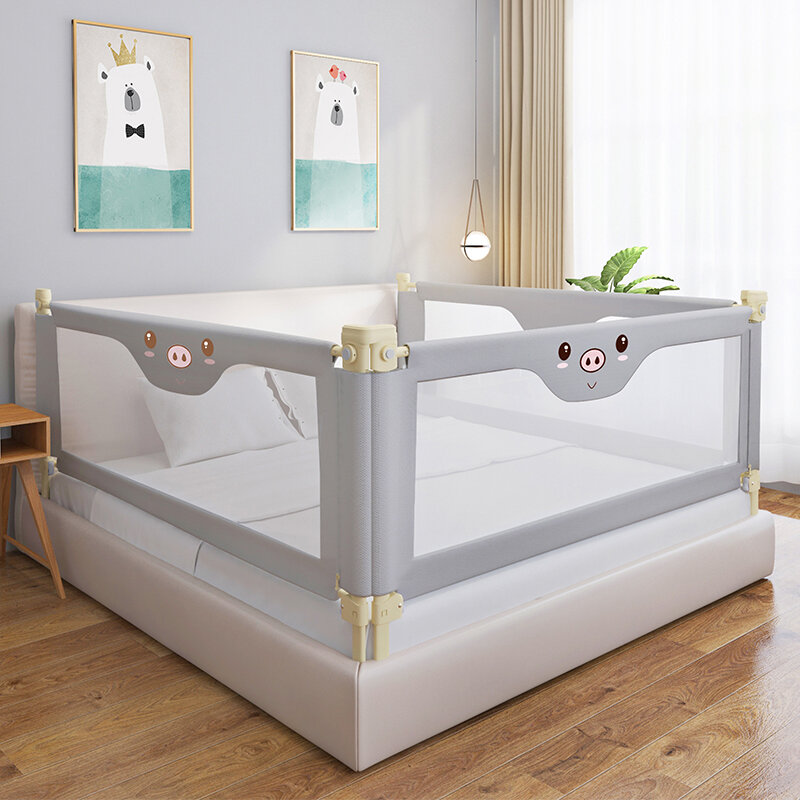 Ibaebe Vertical Lift Bed Guardrail Adjustable Baby Playpen Safety Bed Fence Children Safety Crib Rail Baby Safety Barrier For Beds 1 2m 1 5m 1 8m 2m Lazada Ph