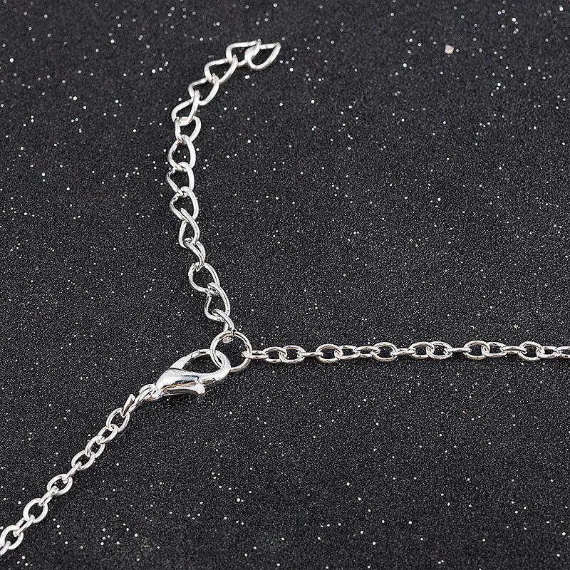 Mode mignon animaux chiens empreintes patte chaîne pendentif collier colliers et pendentifs bijoux pour femmes sautoir