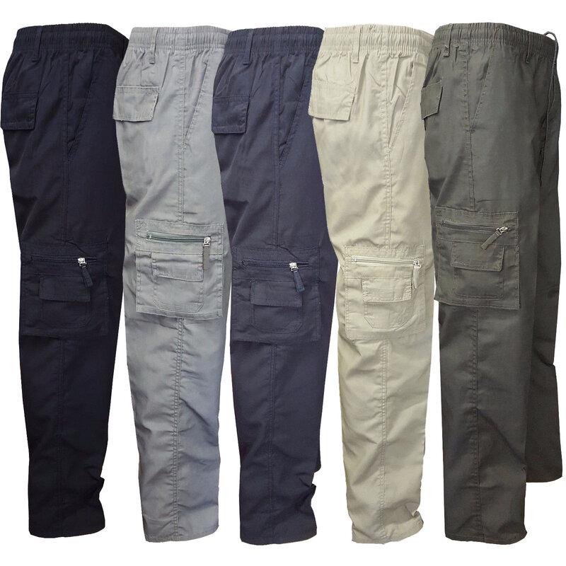 Pantalones Tacticos De Talla Grande 3xl Pantalones Para Jogging Para Acampar Senderismo Bolsillo Pantalones Rectos Militares De Combate De Carga Militar Para Hombre Pantalones Informales Solidos Pantalones