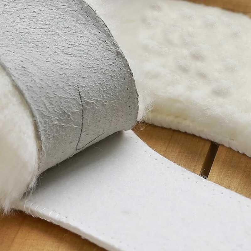 Solette in pelle di montone naturale stivali da neve in Shearling termico in Cashmere scarpette in vera pelliccia lana per adulti scarpe invernali per bambini calde Oversize