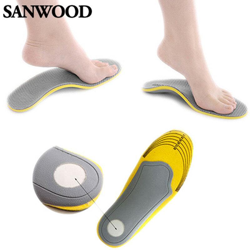 3D confortable orthèse chaussures semelles haute voûte plantaire Support semelles orthopédiques chaussures mémoire coton femmes hommes semelles pour chaussures