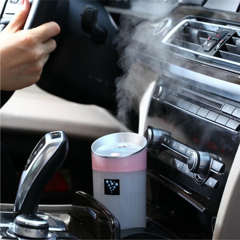 DEVISIB diffuseur d'huile essentielle 300ML humidificateur d'air arôme lampe aromathérapie USB ultrasons arôme diffuseur voiture brumisateur