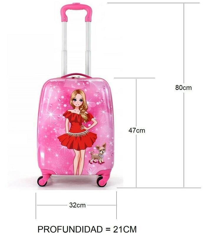 Maleta infantil equipaje de manos para niños bolso de cabina viaje.