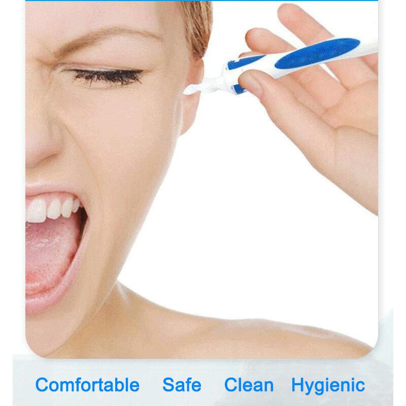 새로운 실리콘 귀 스푼 도구 세트 귀 청소기 귀 16 케어 소프트 나선형 귀 케어 건강 도구 클리너 귀 왁스 제거 도구