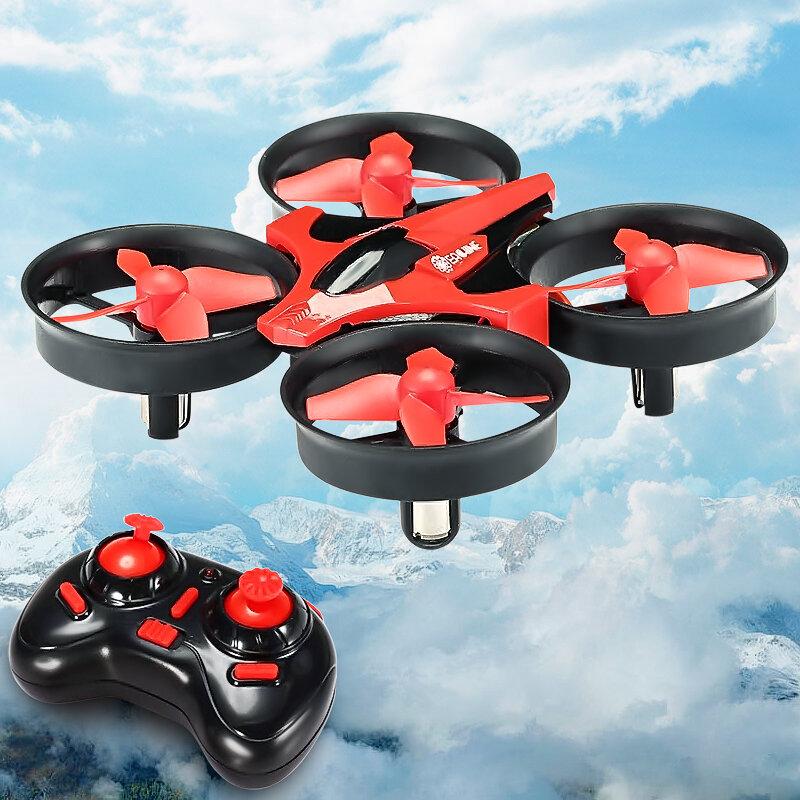 Eachine E010 Mini 2 4g 4ch 6 Eixos 3d Modo Sem Cabeça Função De Memória Rc Quadcopter Rtf Rc Minúsculo Presente Brinquedos Do Miúdo Controle Remoto