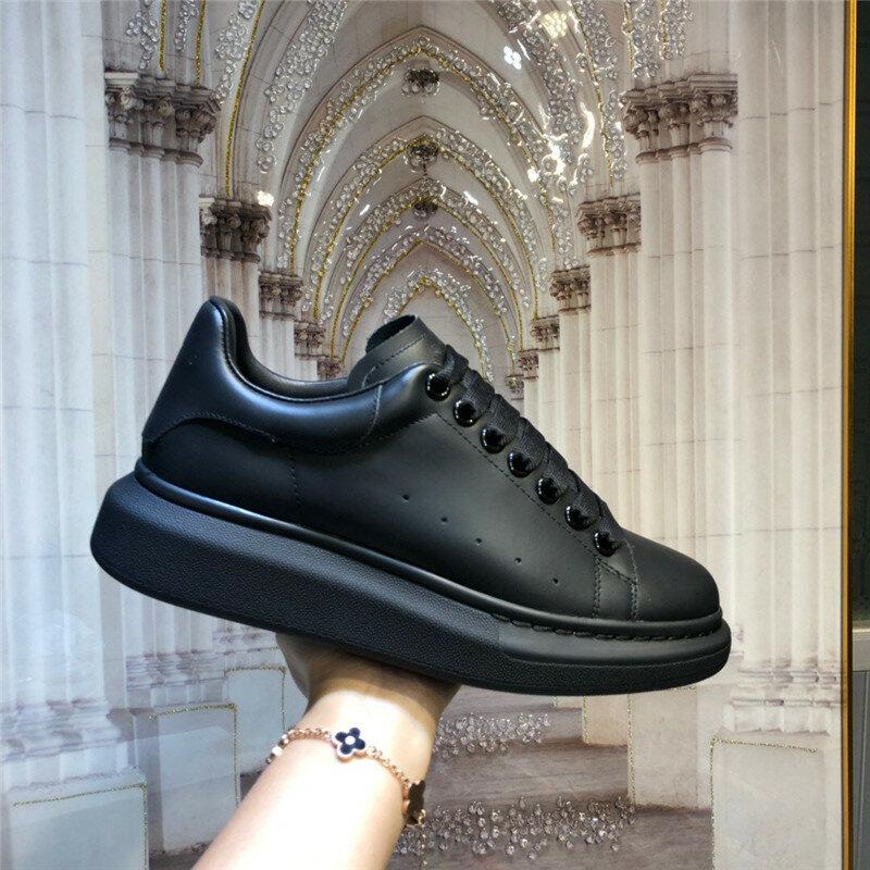 Luksusowy design buty Mcqueen dla kobiet projekt marki alexander białe grube trampki damskie buty wulkanizowane Zapatillas Deporte nowe