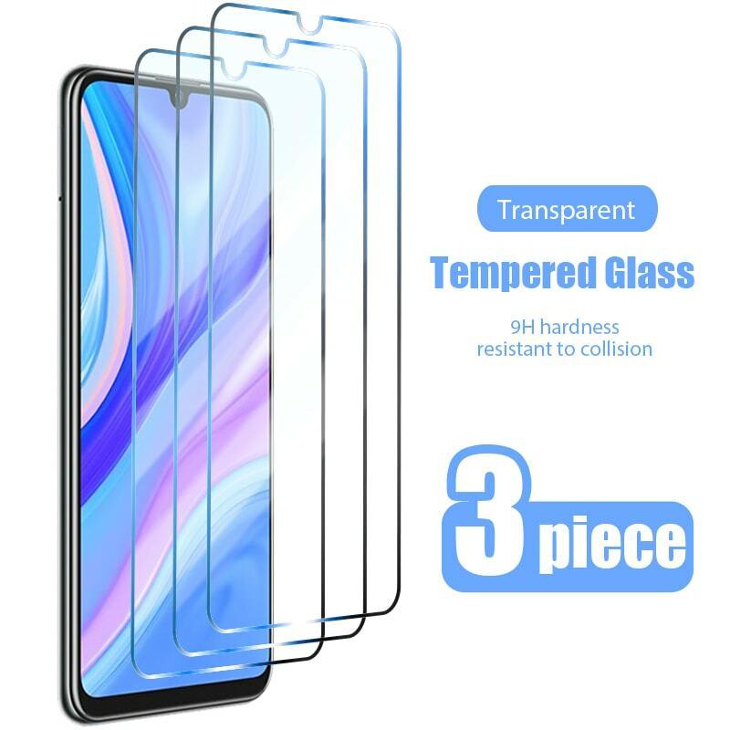 3PCS Gehärtetem Glas für Huawei P Smart 2019 P Smart Z S 2021 Screen Protector für Huawei P30 Lite p40 Pro P20 Lite Glas