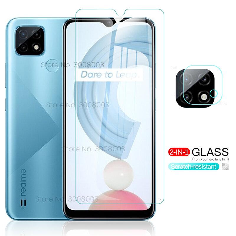 realmi c21 glass camera lens protector for oppo realme c21 protective glass on relme c21 c 21 realmec21 phone film cover 6.5''