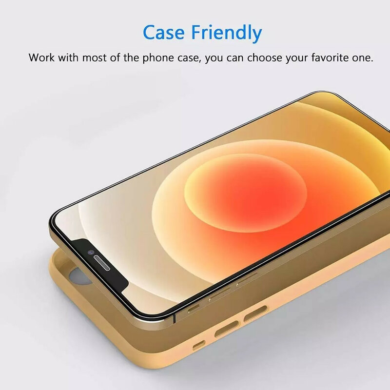 10D 4PCS Protective Glass On the For iPhone 7 8 6 6s Plus X Screen Protector For iPhone 11 12 13 Pro X XR XS MAX SE 5 5s Glass