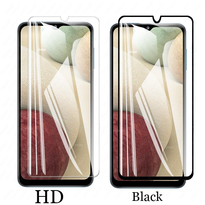 on For Samsung Galaxy A12 Camera Lens Film screen Protectors Protective Glass for samsung a 12 SM-A125F/DSN A125 Tempered Glass