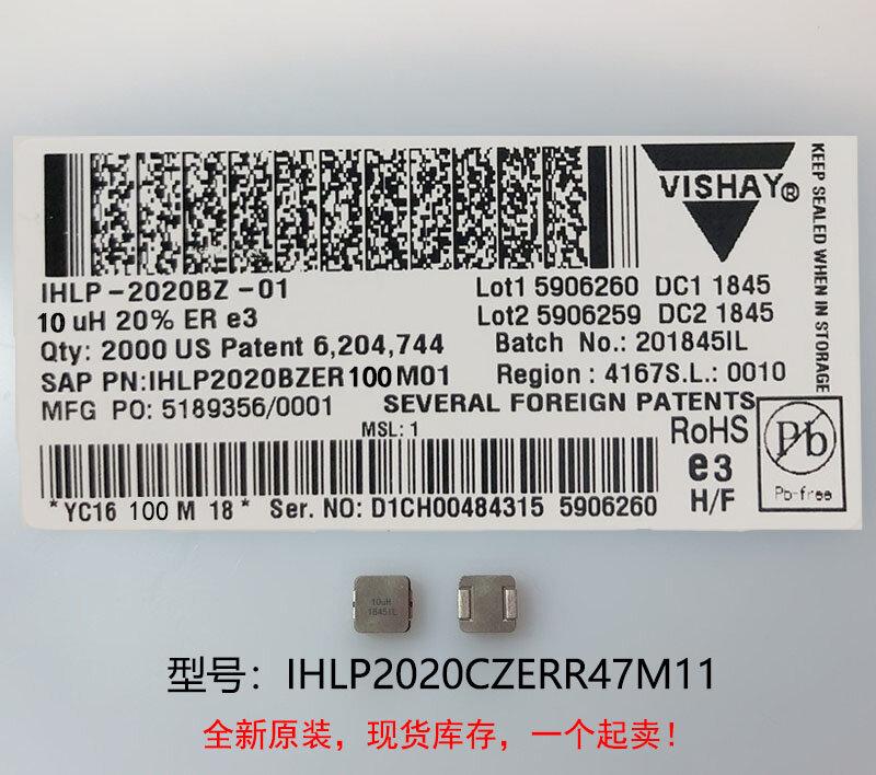 (10) 새로운 원본 100% 품질 IHLP2020CZERR47M11 0.47UH 5X5X3MM 통합 고전류 인덕터