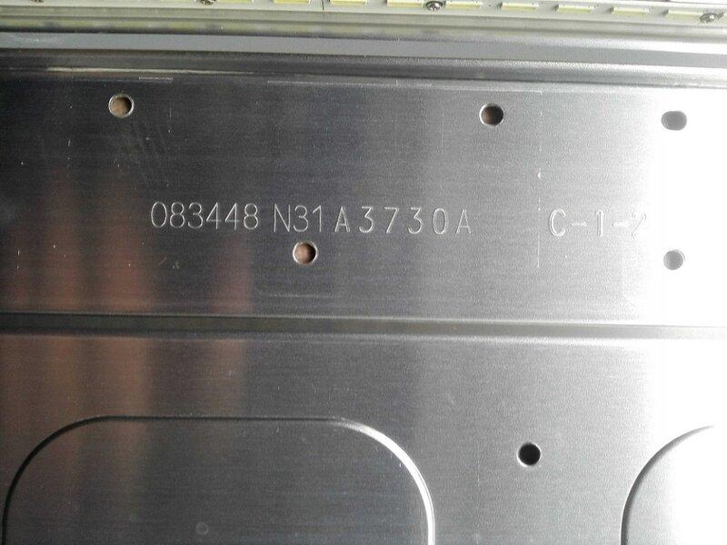 1 Uds 56LED, tira de LED para iluminación trasera de V50002-LS1-TREM3 de 620mm para TH-50A400C V500HJ1-LE6