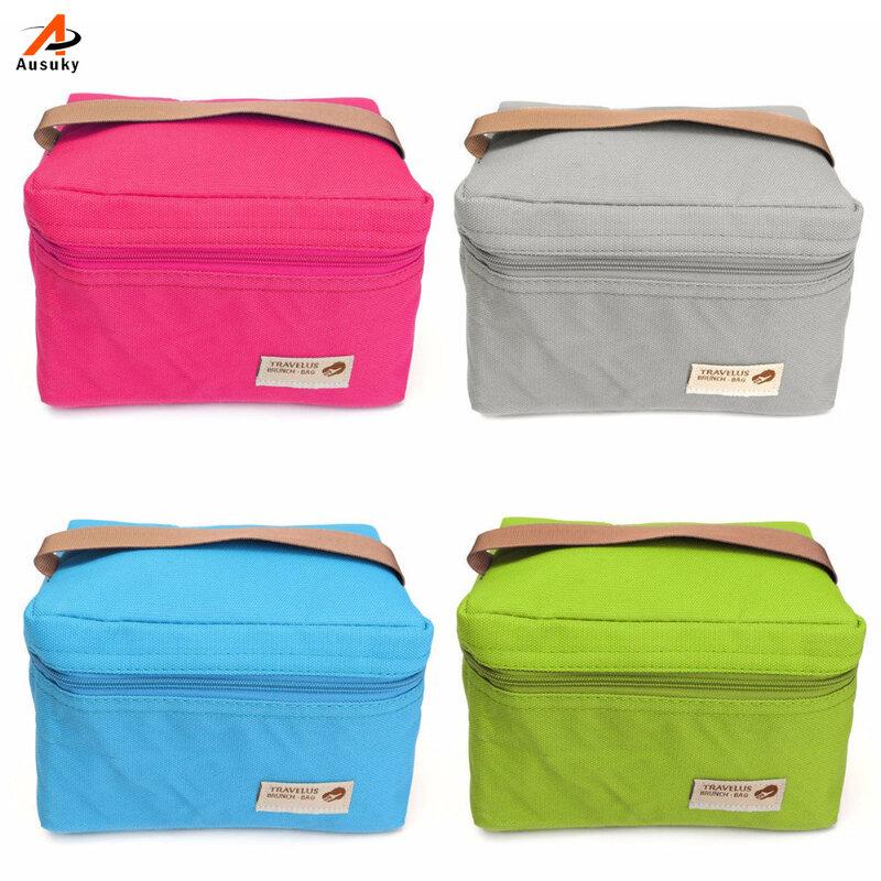 2019 beliebte Mittagessen Taschen Kühler für Frauen Kinder Verwendet Thermal Bag Lunch Box Lebensmittel Picinic Tasche Lancheira Thermo