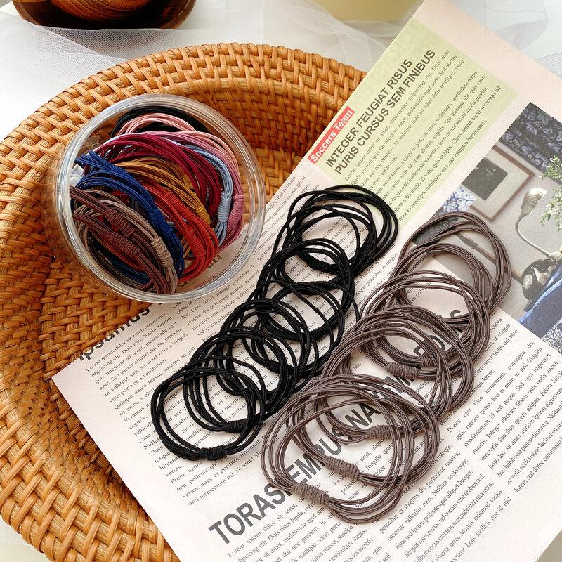Lazo para el pelo cinta para el pelo, cinta elástica para el pelo, versátil, Corea del Sur, accesorios para el cabello